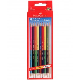 Faber-Castell Bi-Color Pencils (9 Shades)