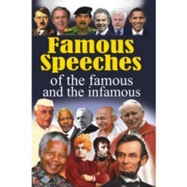 Famous Speeches of The Famous and The Infamous by Vikas Khatri (Manoj Publications)