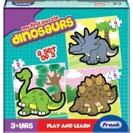 Frank First Puzzles (Dinosaurs)
