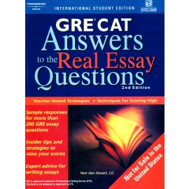 Arco's USA GRE Answers to The Real Essay Questions by Mark Alan Stewart