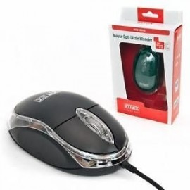 Intex Optical Mouse Wired Little Wonder Black (IT-OP14)