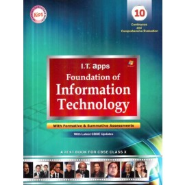 Kips I.T. Apps Foundation of Information Technology for Class 10
