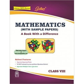 Golden (New Age) Guide of Mathematics for Class 8 by Hari Kishan (2018)