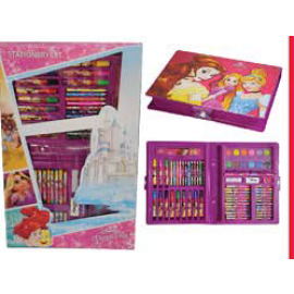 Disney Princess Stationery Set (Colouring Set)