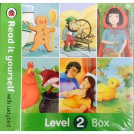 Ladybird Read It Yourself With Ladybird - Level 2 (Boxed Set of 6 Books)