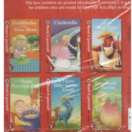 Ladybird Read it Yourself Level 1 (Set of 6 Books)