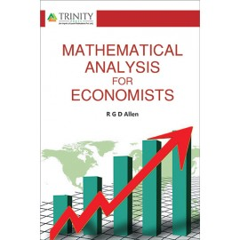 Mathematical Analysis For Economists by RGD Allen