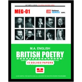 Straight Forward IGNOU M.A. English - British Poetry 1st Year (MEG-01)