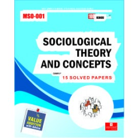 Straight Forward IGNOU M.A. Sociology - Sociology Theories and Concepts 1st Year (MSO-001)