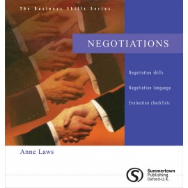 Negotiations by Anne Laws