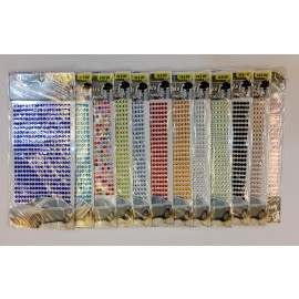 Crystal Stickons Single Colour (Small)