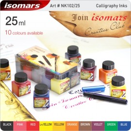Isomars Calligraphy Artist Ink (10 Color Set) - NK102