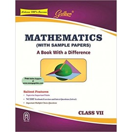 Golden (New Age) Guide of Mathematics for Class 7 by Kishan & Hari (2018)