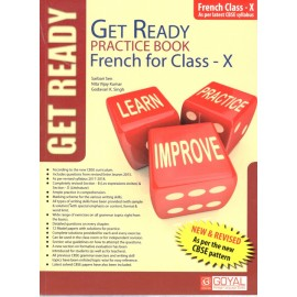 Get Ready Practice Book of French for Class 10 (With Solution)