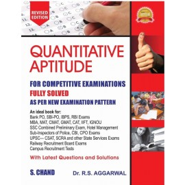 S Chand Quantitative Aptitude by RS Aggarwal