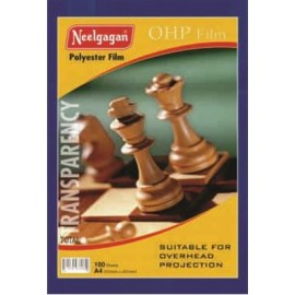 Neelgagan Over Head Projector (OHP) Film A4 Size - 100 Sheets