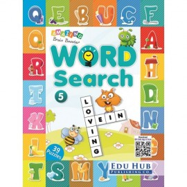 Edu Hub Amazing Brain Booster Word Search Book 5