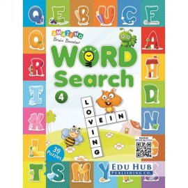Edu Hub Amazing Brain Booster Word Search Book 4