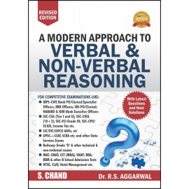 S Chand A Modern Approach to Verbal and Non Verbal Reasoning by RS Aggarwal