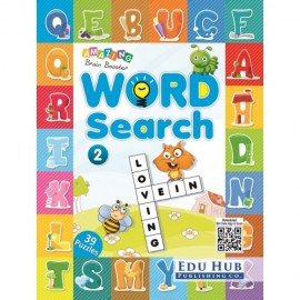 Edu Hub Amazing Brain Booster Word Search Book 2