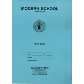 Modern School Register Single Lined Regular (A4) - 192 Pages