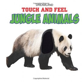 Dreamland Touch And Feel Jungle Animals