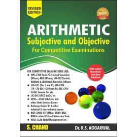 S Chand Arithmetic for Competitive Examinations