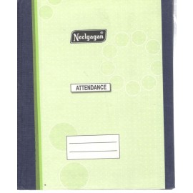 Neelgagan Attendance Book 31 Days Copy Size Ordinary Binding