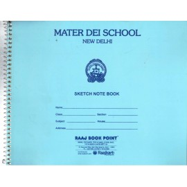 Mater Dei School Sketch Book Small - 30 Pages