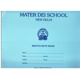 Mater Dei School Sketch Book Big - 18 Pages