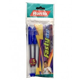 Rorito Fasty Gel Pen Set (Pack of 5)