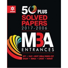 Arihant Sample Paper 50 Plus MBA Entrances (2017-18)