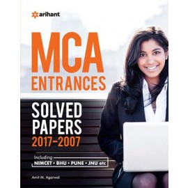 Arihant 11 Years' Solved Papers MCA Entrances (2017-18)