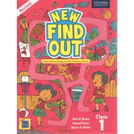Oxford New Find Out Textbook for Class 1 General Knowledge (Revised Edition)