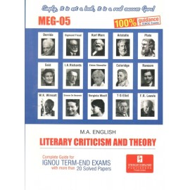 Straight Forward IGNOU M.A. English - Literary Criticism and Theory 2nd Year (MEG-05)