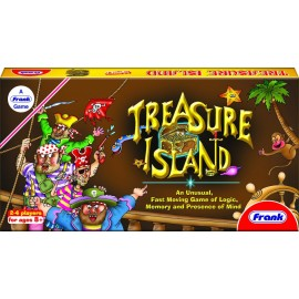 Frank Treasure Island An Unusual Fast Moving Game of Logic Memory and Presence of Mind Game