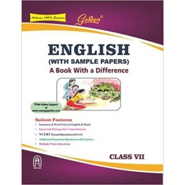 Golden (New Age) Guide of English (with Sample Papers) for Class 7 by RK Gupta (2018)