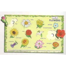 Creative Educational Aids Play and Learn Flowers (0336)