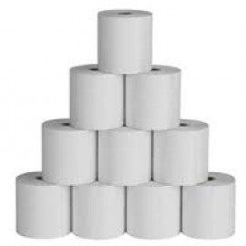 Citizen Thermal Paper Rolls (Card Swiping Machines) - Width 57mm X Lenght 25 Mtrs. (Pack of 10 Pcs)