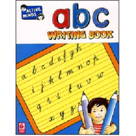 Bharti Bhawan Active Minds abc (Small)  Writing Book