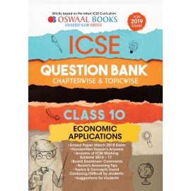 Oswaal ICSE Question Bank Chapterwise Economics Application for Class 10 (2019)
