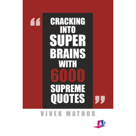 Studera Press Cracking Into Super Brains With 6000 Supreme Quotes by Vivek Mathur
