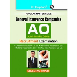 RPH General Insurance Companies (Generalist and Specialist) Administrative Officer Exam Guide (R-1092) - 2018