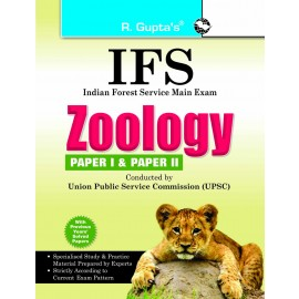 RPH UPSC-IFS Exam Zoology (Including Paper I & II) Main Exam Guide (R-1241)