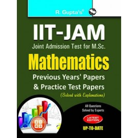 RPH IIT-JAM: M.Sc. Mathematics Previous Papers & Practice Test Papers (Solved) (R-1273) - 2018