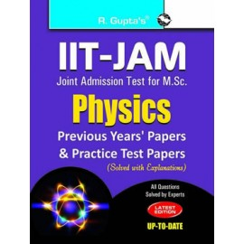 RPH IIT-JAM: M.Sc. Physics Previous Papers & Practice Test Papers (Solved) (R-1274) - 2018