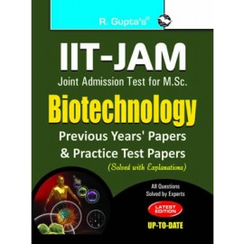 RPH IIT-JAM: M.Sc. Biotechnology Previous Papers (Solved) (R-1275) - 2018