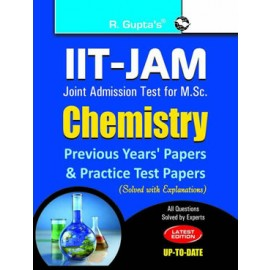 RPH IIT-JAM: M.Sc. Chemistry Previous Papers & Practice Test Papers (Solved) (R-1281) - 2018