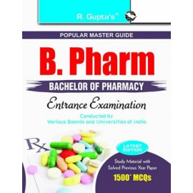 RPH B. Pharm (Bachelor of Pharmacy) Entrance Examinations Guide (R-1353) - 2018