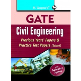 RPH Gate Civil Engineering Previous Year's Papers & Practice Test Papers Solved (R-687) - 2018